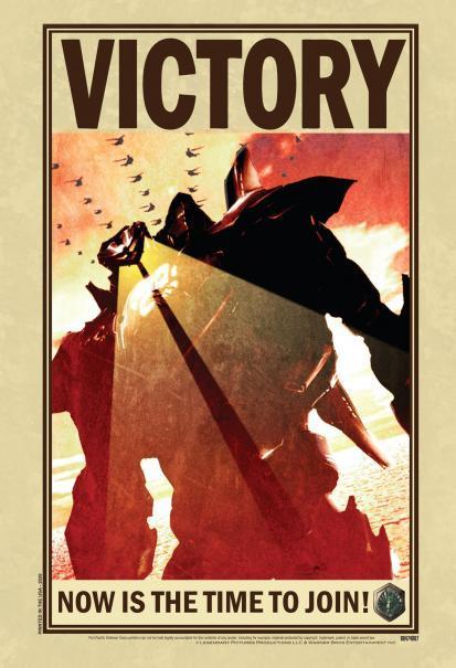 Affiche Rejoignez l'armée des Jaeager pour la Victoire !