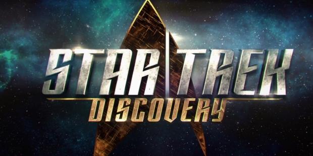 Logo de la série télé Star Trek Discovery : sortie en 2017