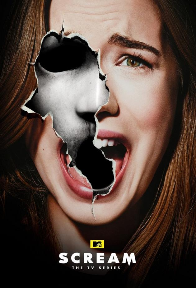 Affiche Scream Emma Duval - Willa Fitzgerald