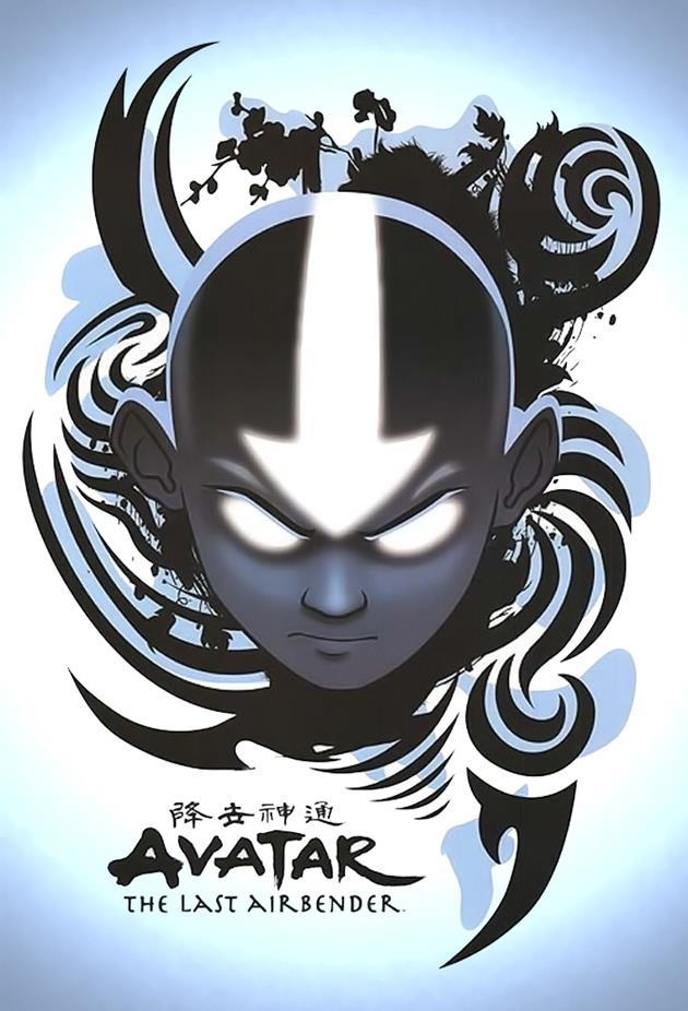 Affiche Avatar The Last Airbender en mode maléfique