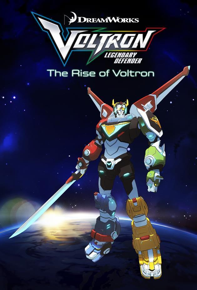 Affiche Voltron Legendary Defender