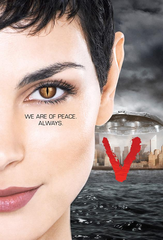 Affiche V 2009 - We are of peace. Always