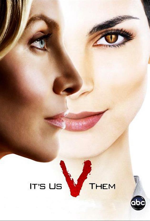 Affiche V 2009 - It' us V them