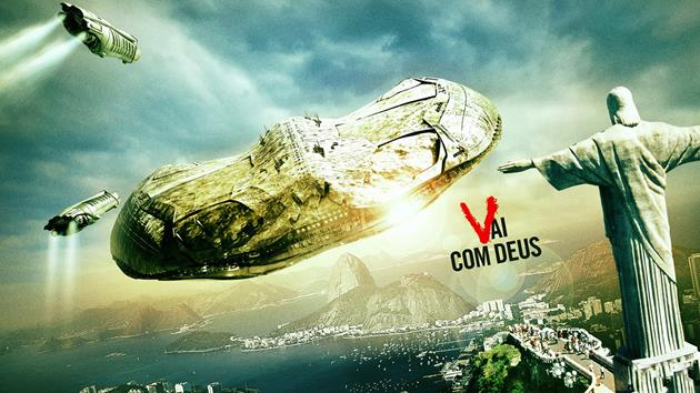 Le vaisseau des Visiteurs à Rio de Janeiro