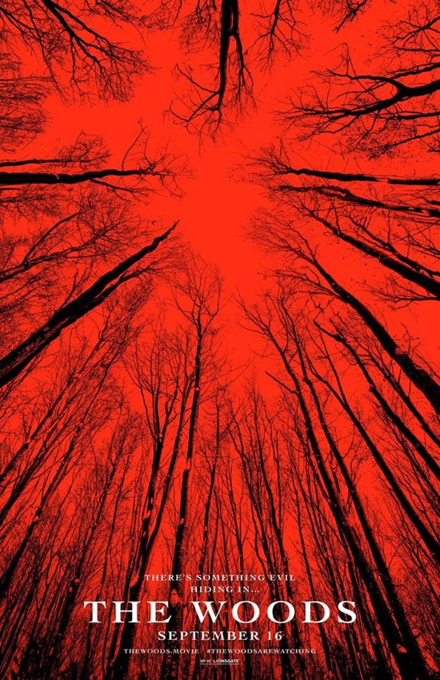 Affiche américaine The Woods - Blair Witch
