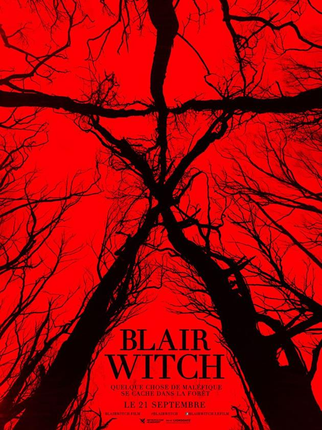 Affiche française de Blair Witch