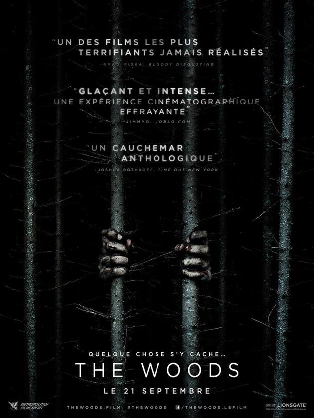 Affiche française The Woods - Quelque chose s'y cache
