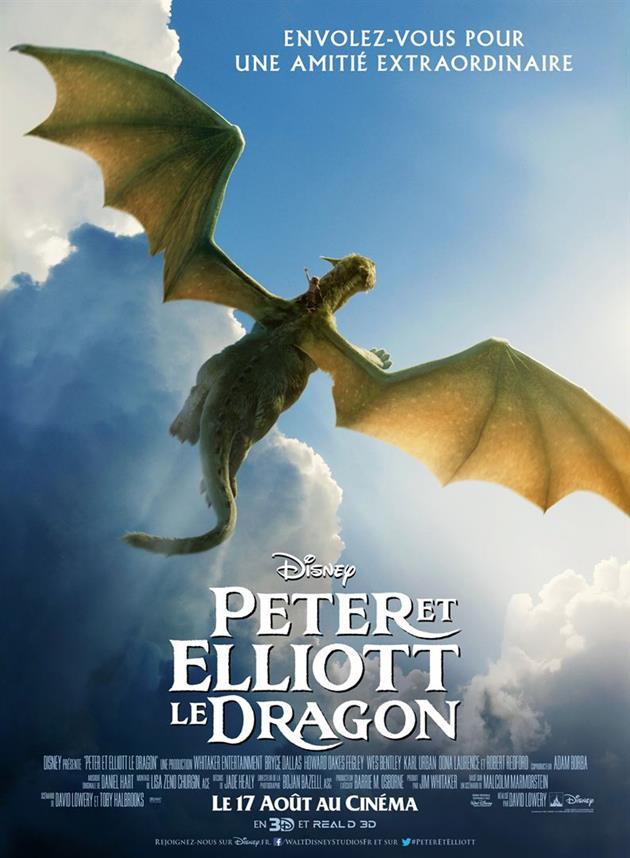 Affiche Peter et Elliott le Dragon - Envolez vous pour une amitié extraordinaire - Jour