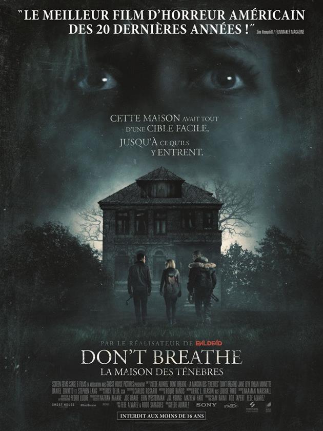 Affiche française du film La Maison des Ténèbres