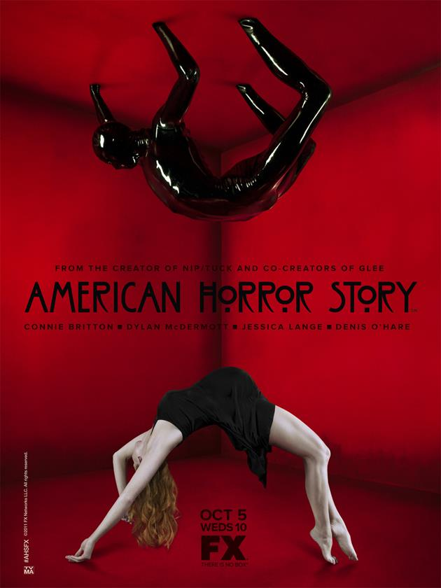 Affiche American Horror Story saison 1 - Salle rouge alternative