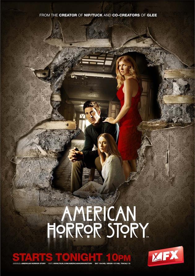 Affiche American Horror Story saison 1 - Murder House
