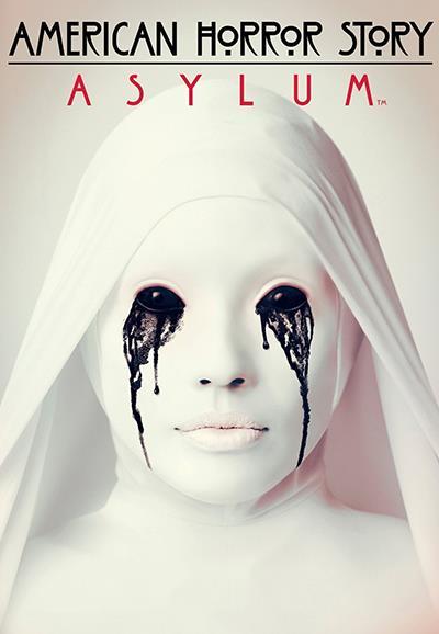 Affiche American Horror Story saison 2 Asylum - larmes noires