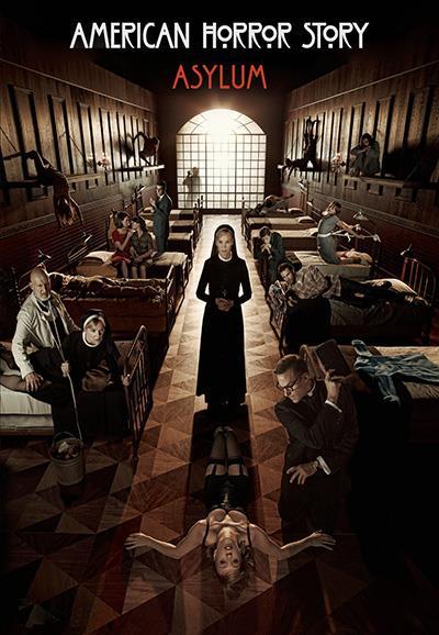 Affiche American Horror Story saison 2 Asylum - Débauche à l'église