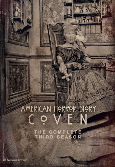 Affiche American Horror Story saison 3 Coven - Vieille mégère