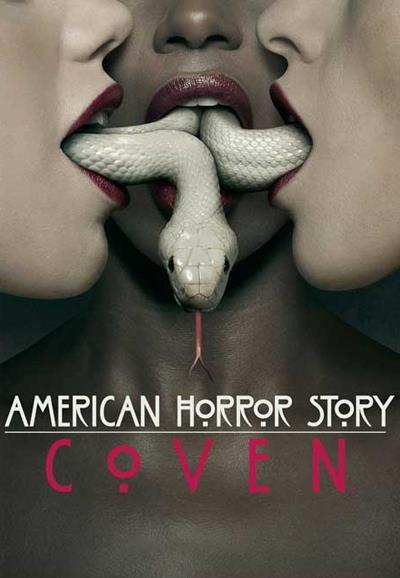 Affiche American Horror Story saison 3 Coven - Trio de langues de serpents