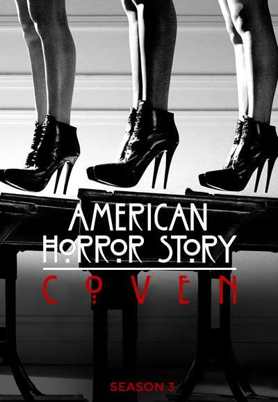 Affiche American Horror Story saison 3 Coven - Talons hauts