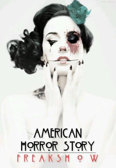 Affiche American Horror Story saison 4 Freak Show - Clown mime