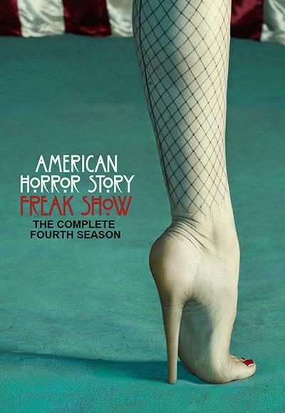 Jaquette DVD American Horror Story saison 4 Freak Show - Pied talon aiguille