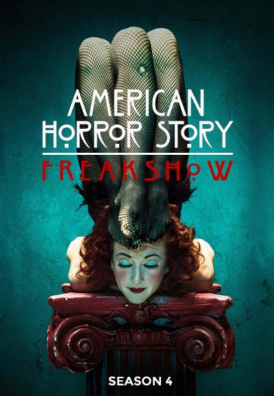 Affiche American Horror Story saison 4 Freak Show - Contortioniste