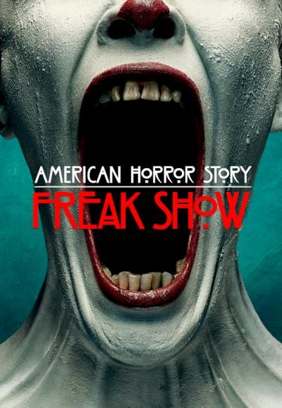 Affiche American Horror Story saison 4 Freak Show - Clown crieur