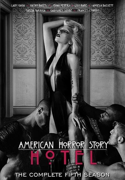 Affiche American Horror Story saison 5 Hotel - Maison close