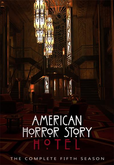 Jaquette DVD American Horror Story saison 5 Hotel - Grand Hall