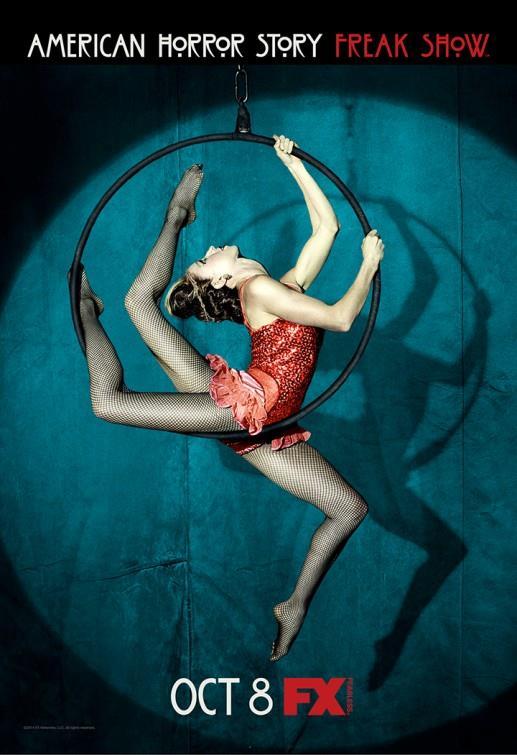 Affiche American Horror Story saison 4 Freakshow - Trapeziste à 3 jambes