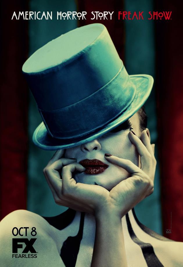 Affiche American Horror Story saison 4 Freak Show - Chapeau l'artiste