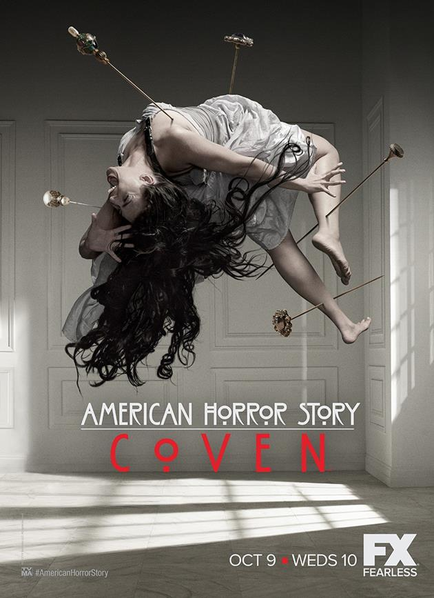 Affiche American Horror Story saison 3 Coven - Acuponcture volante