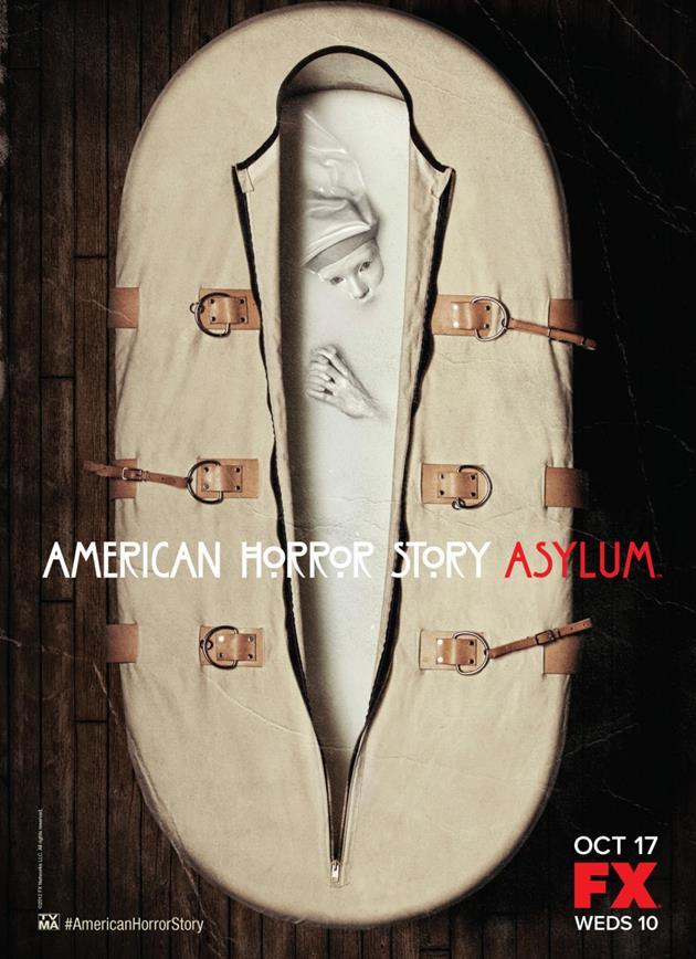Affiche American Horror Story saison 2 Asylum - Sac de couchage ou camisole de force