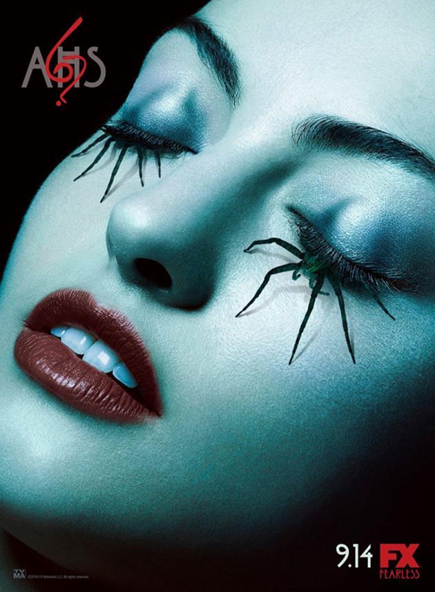 Affiche American Horror Story saison 6 - Araignée dans les yeux