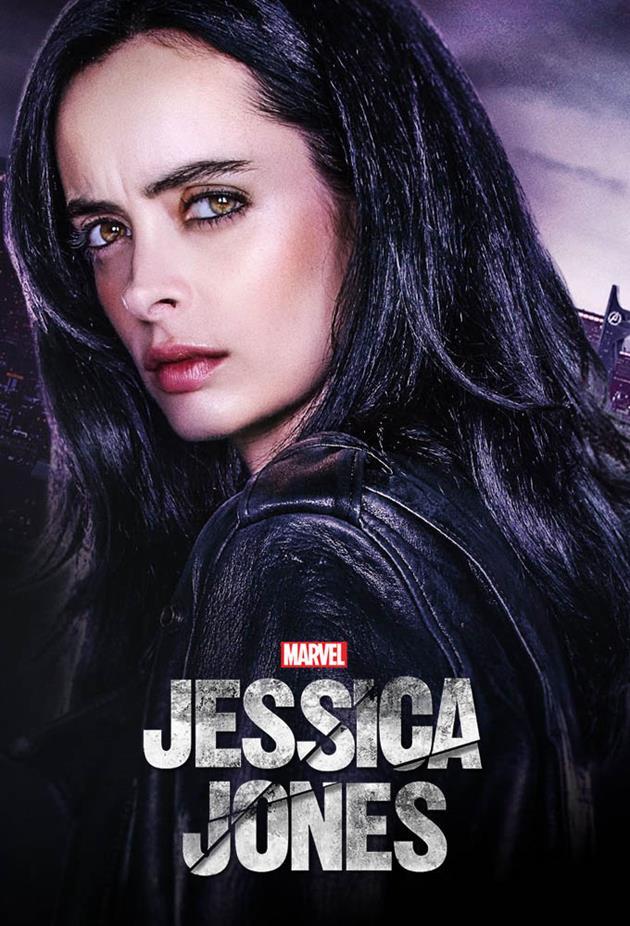 Affiche Jessica Jones - Surexposée