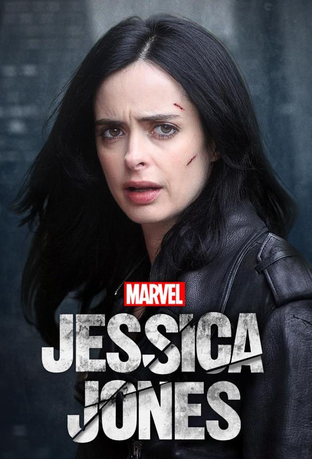 Affiche Jessica Jones - Blessée