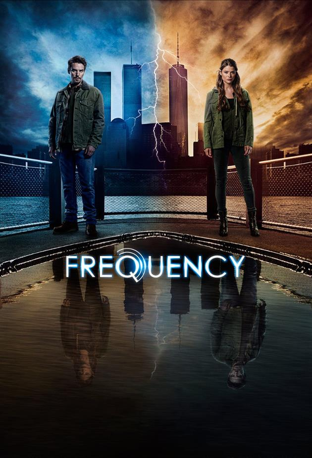 Affiche Frequency - Les deux mondes côte à côte