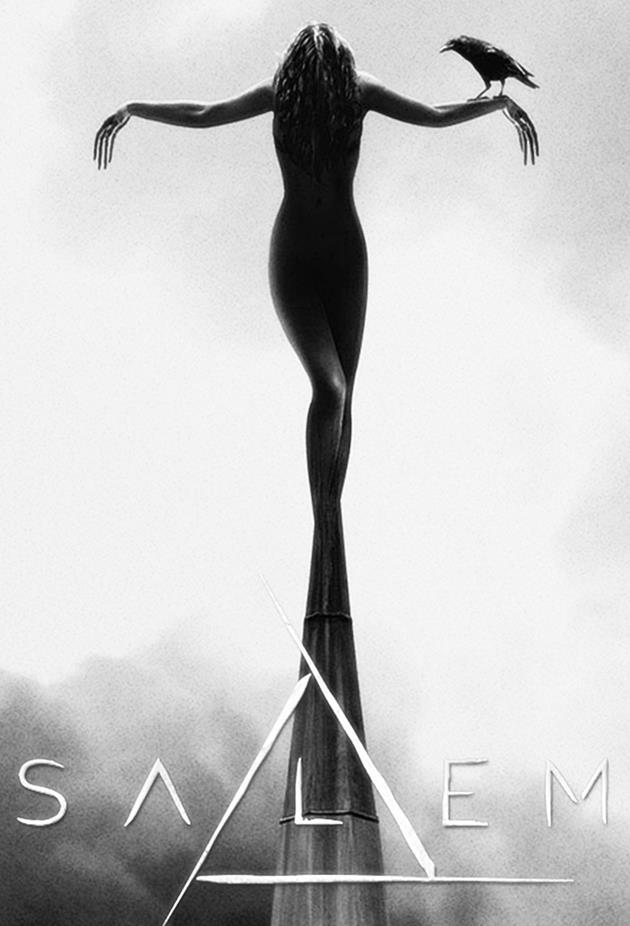 Affiche de la série Salem - Corbeau sur la croix