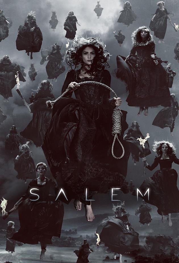 Affiche de la série Salem - La mort est partout
