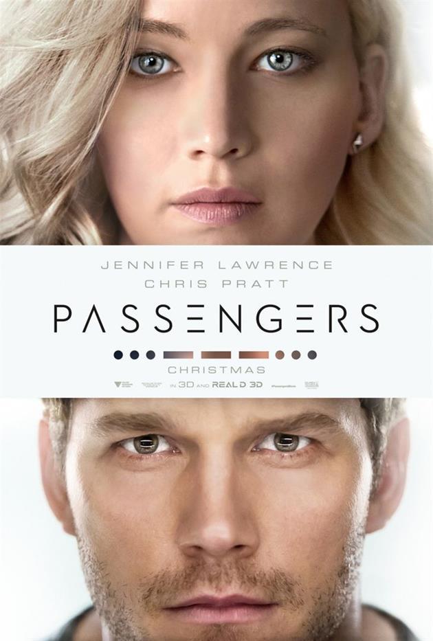 Affiche teaser américaine du film Passengers