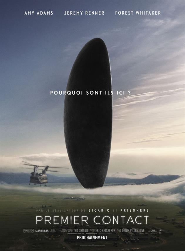 Affiche française du film Premier Contact
