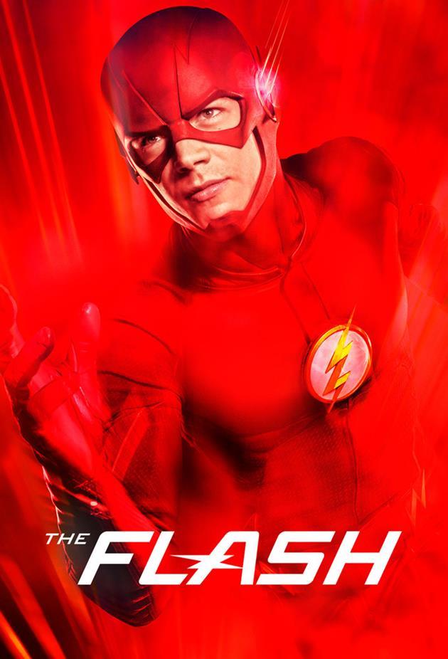 Flash affiche rouge