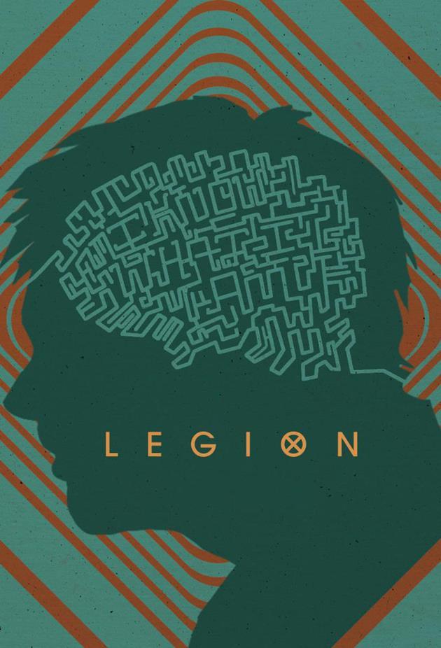 Affiche Legion : le cerveau est un labyrinthe