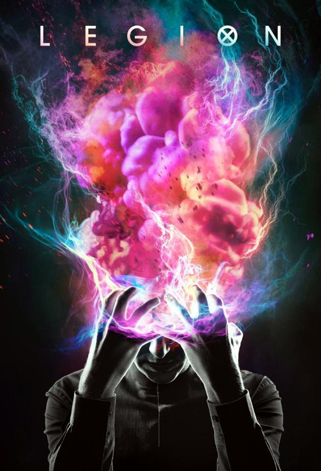 Affiche officielle de la série Legion