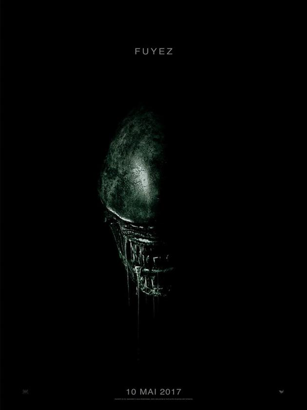 Affiche Alien Covenant - Fuyez