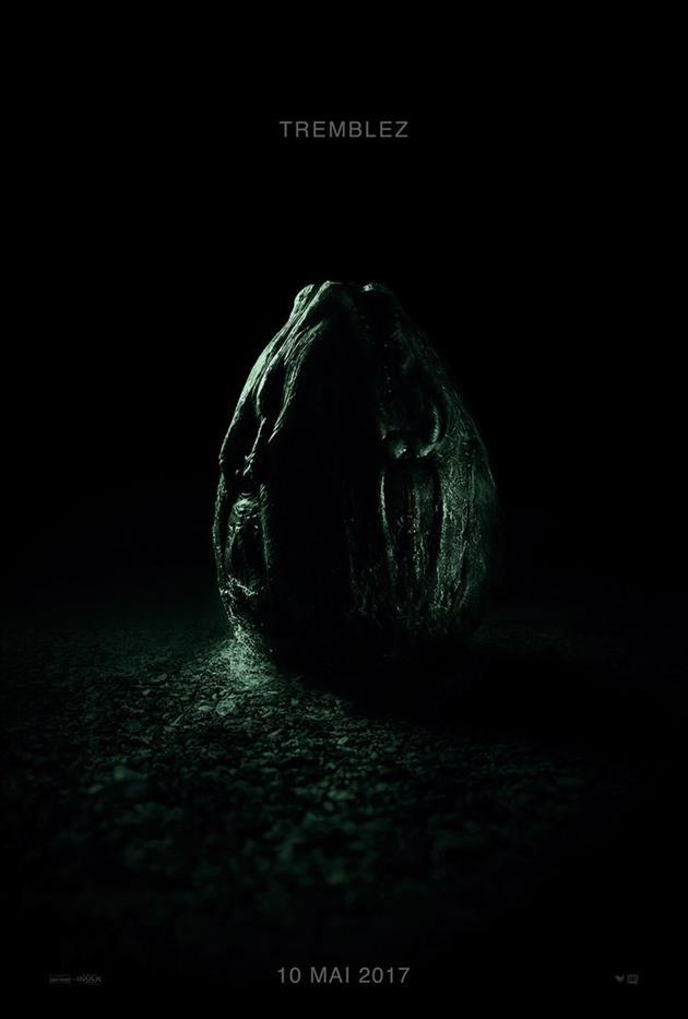Affiche Alien Covenant - Tremblez