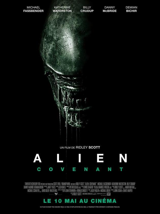 Affiche française Alien Covenant