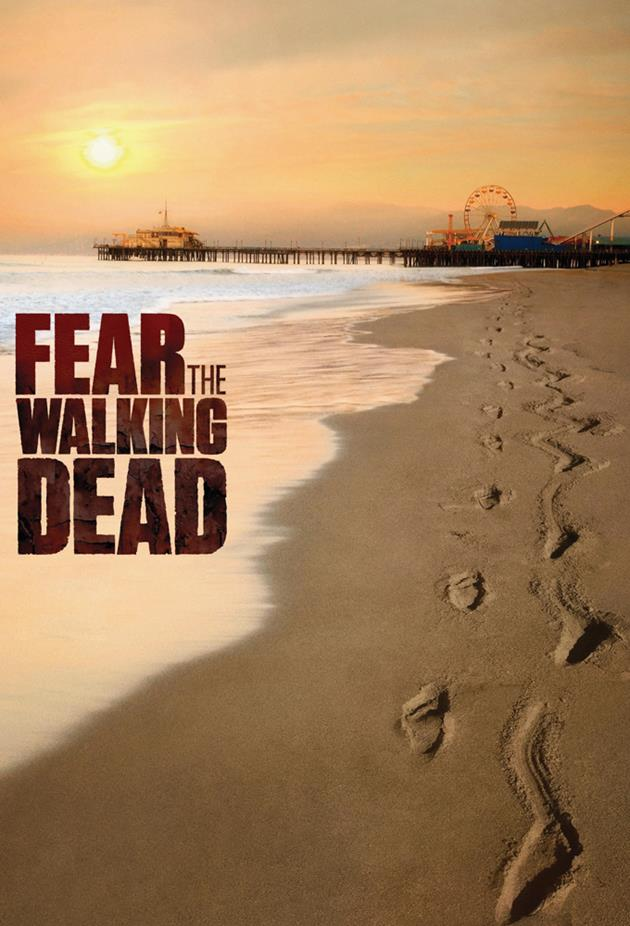 Affiche Fear the Walking Dead - La plage