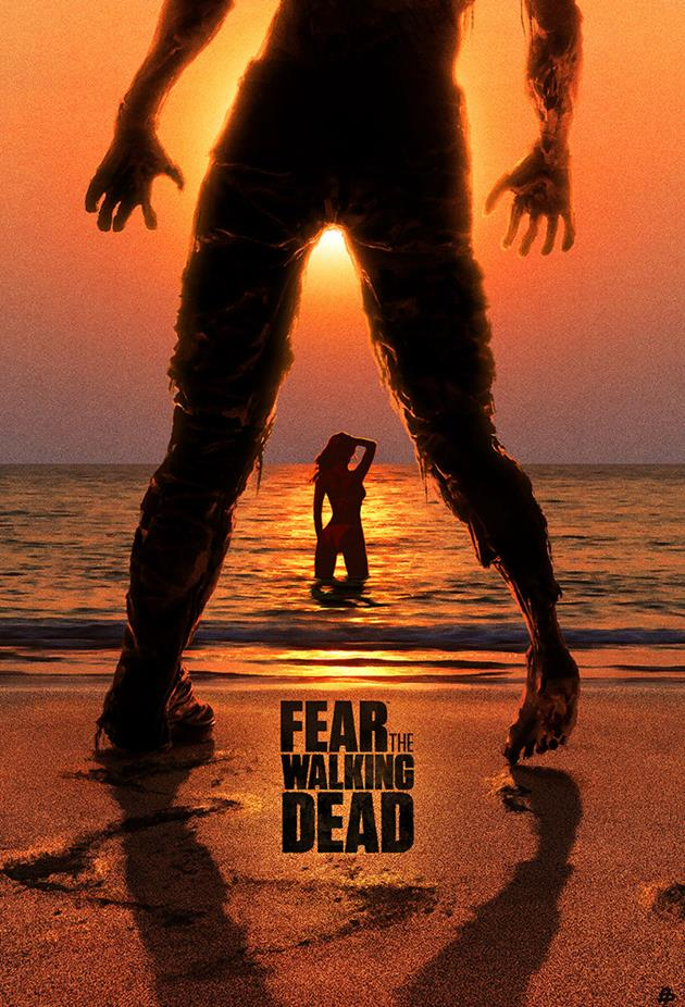 Affiche Fear the Walking Dead - jolie poupée