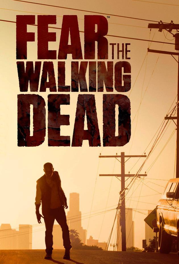 Affiche Fear the Walking Dead - zombie errant