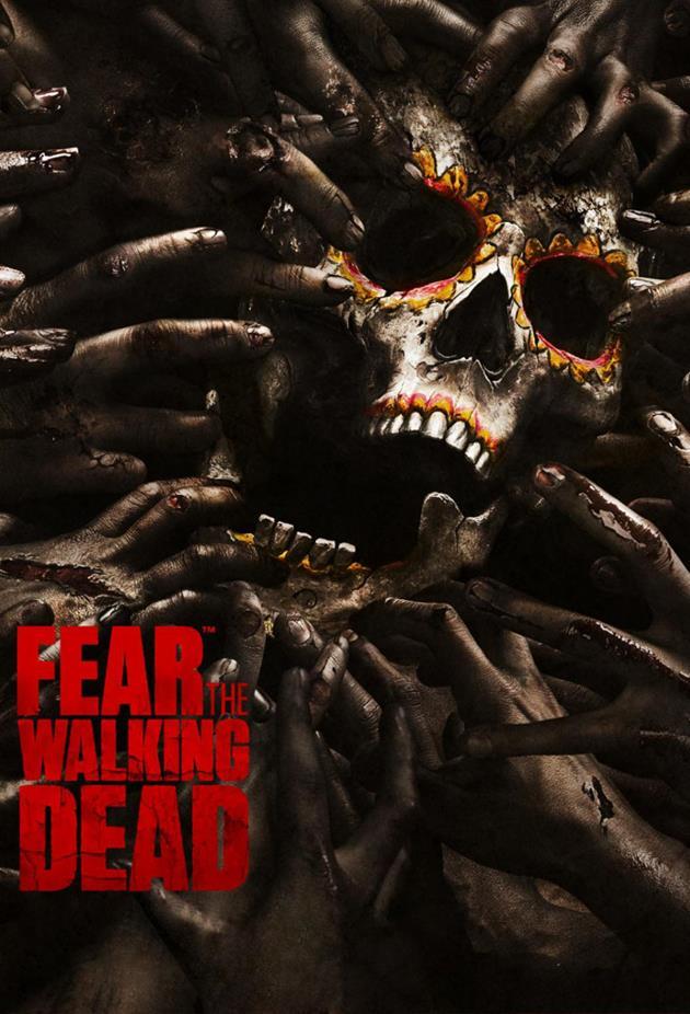 Affiche Fear the Walking Dead - crane décoré