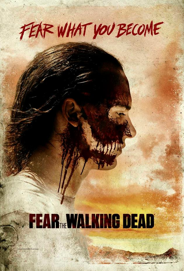 Affiche Fear What you Become - camouflage zombie