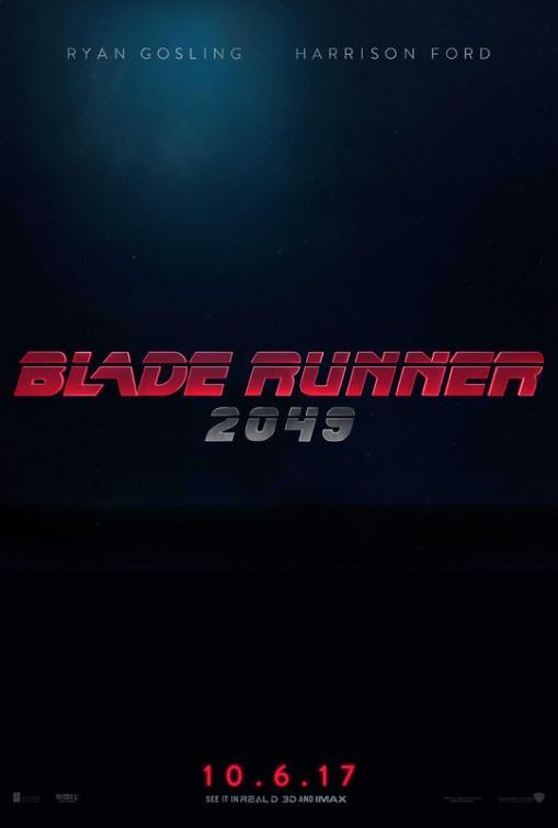 Affiche teaser Blade Runner 2049